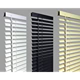 """New 120cm WHITE Pvc Venetian Blinds, AVAILABLE IN 10 SIZES AND 3 COLOURS .Buy As Many As Like For A Max Of £4.99 Shipping. Original """"umlout ©"""" branded"""