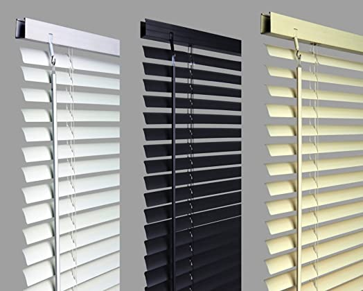 New 45cm WHITE Pvc Venetian Blinds AVAILABLE IN 10 SIZES AND 3