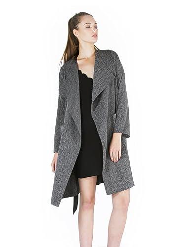 LYDC - Abrigo - para mujer gris gris 38