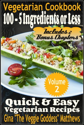 quick and easy vegetarian recipes - 4
