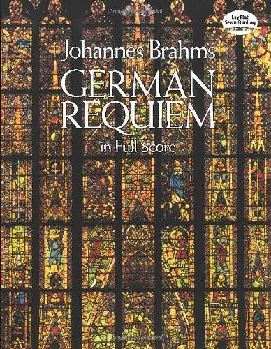 German Requiem in Full Score