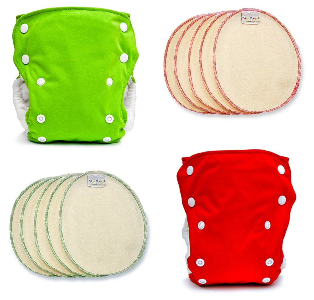 BabyKicks Holiday Cloth Diaper Pack, One Size 794504455625