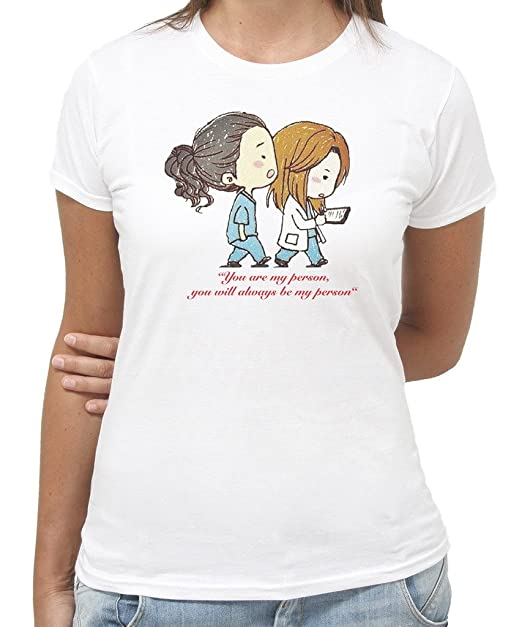 3 opinioni per T-Shirt You are my Person Grey's Anatomy Serie TV by New Indastria