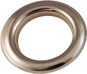 Pack of 25 Large Nickel Design #11 Metal Curtain Drapery Hardware Supplies #12-1 9//16 inch Inner Diameter Decorative Grommet//Rings w//Washer Eyelet Lot of 10//25 50//100 pcs