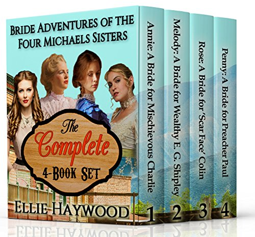 4 Book Box Set: Bride Adventures of the Four Michaels Sisters cover