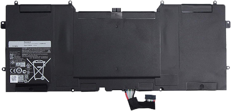 SUNNEAR C4K9V 7.4V 55Wh Laptop Battery Replacement for DELL XPS 12 9Q33 L221X XPS 13 L321X L322X 9333 Series Notebook 3H76R PKH18 489XN Y9N00