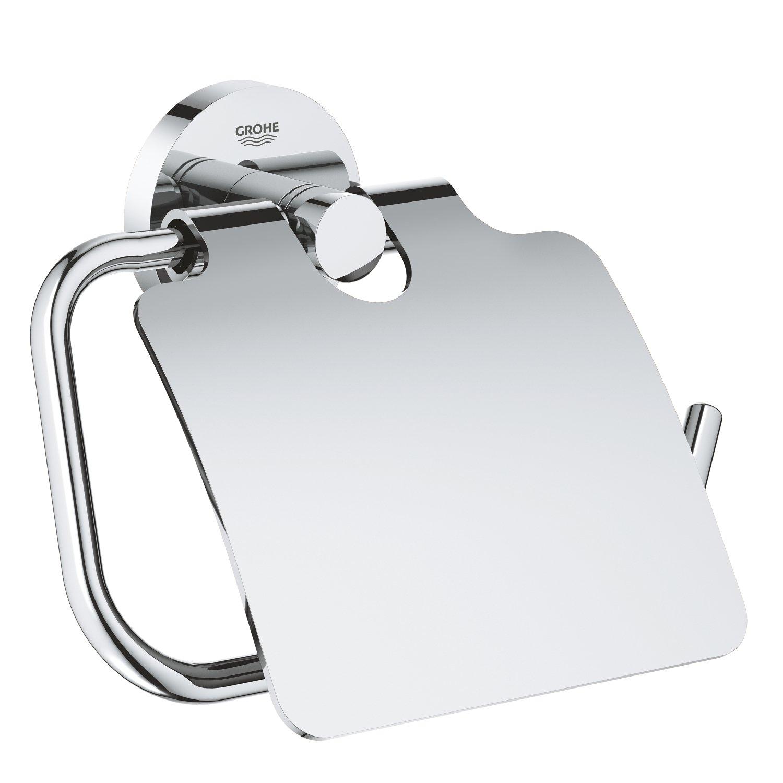 GROHE Porta Rotolo Essentials Cromo 40367001, Cromo