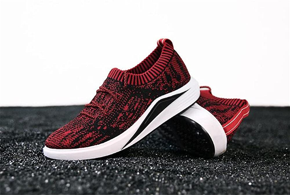 Mens Slip On Fashion Lightweight Casual Sneaker Breathable Running Shoes Shoes