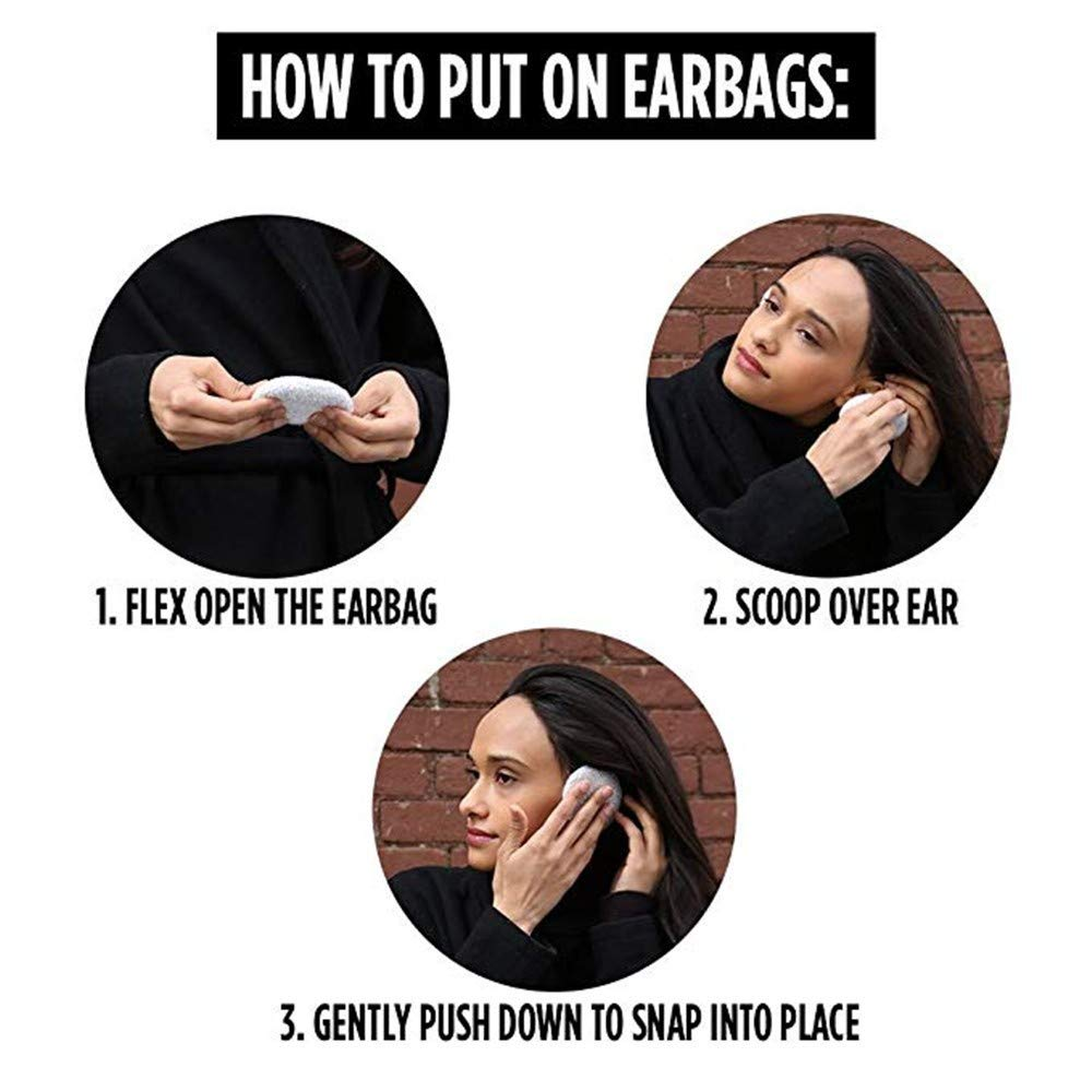 1 paio Uomo Adulto Donne Inverno Earbags senza nastro dellorecchio Scalda Earmuffs orecchio della copertura Warme oorbeschermers Y02