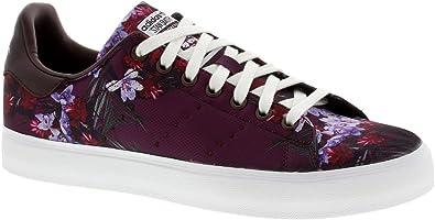 Amazon.com | adidas Men's Originals Stan Smith Vulc Floral Trainer ...