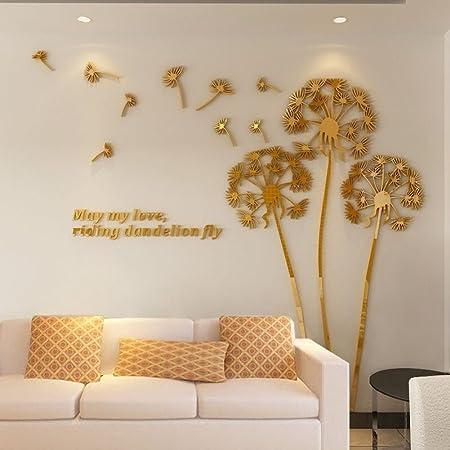 soggiorno cameretta Specchio acrilico rimovibile per camera da letto decorazione domestica