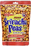 Hapi Snacks - Spicy Sriracha Peas - Chili Garlic Coated Green Peas 4.23 Oz, Pack of 12