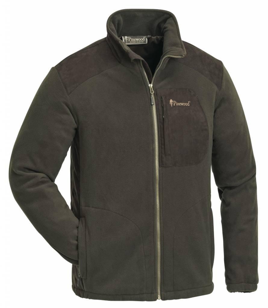 H.brown suede brown M Pinewood Fleece Jacket Wild Mark Membrane 5066 Hunting Brown (242)
