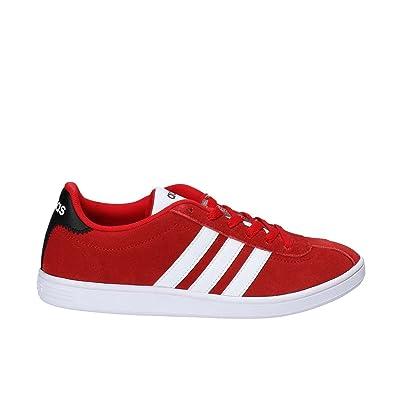 reputable site 32147 e539f ... czech adidas neo vl court sneakers rosso scarpe uomo bb9633 45 1 3  6a670 b09c8