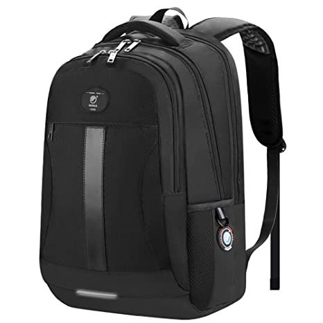 f5312de0d9a9 Laptop Backpack, Sosoon Business Bags with USB Charging Port Anti-Theft  Water Resistant Polyester