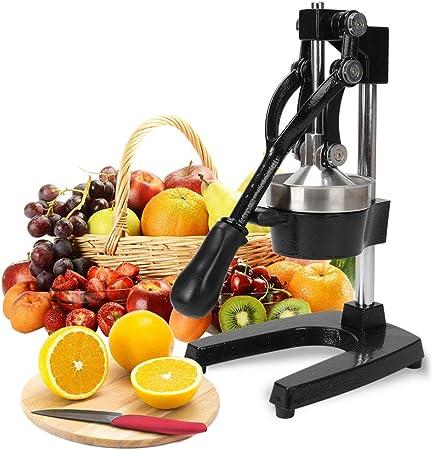 Compra FOBUY Exprimidor Multi función para Gastronomía Exprimidor de naranja Exprimidor de granada Exprimidor de limones (Negro) en Amazon.es