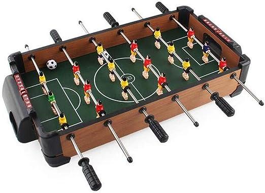 JBHURF Mini futbolín, máquina futbolín, futbolín, 51 cm de 6 Polos ...