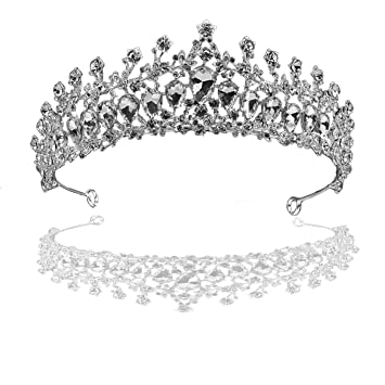 12 Black White Birthday Celebration King Queen Party Card Tiaras Crowns Hats