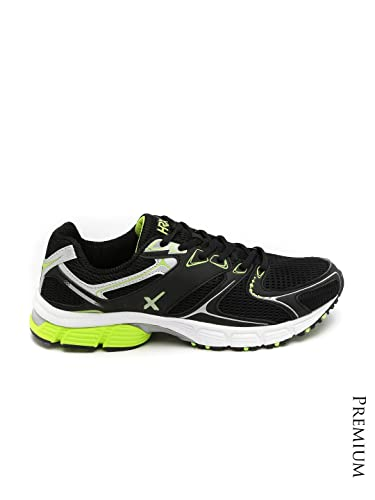 HRX by Hrithik Roshan Men Black Limion Running Shoes (9UK)