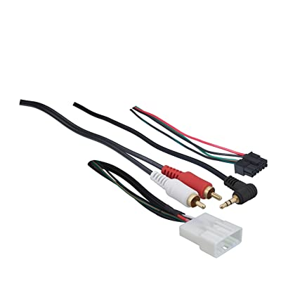Metra 70-8114 Steering Wheel Control Wire Harness with RCA for 2003-Up Select Toyota/Scion/Lexus Vehicles: Car Electronics