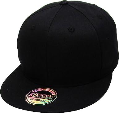 Snapback Baseball Cap Blank Hat Solid Curved Adjustable Plain Flat Flexfit Gifts
