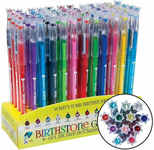 Geddes Birthstone Gel Pen