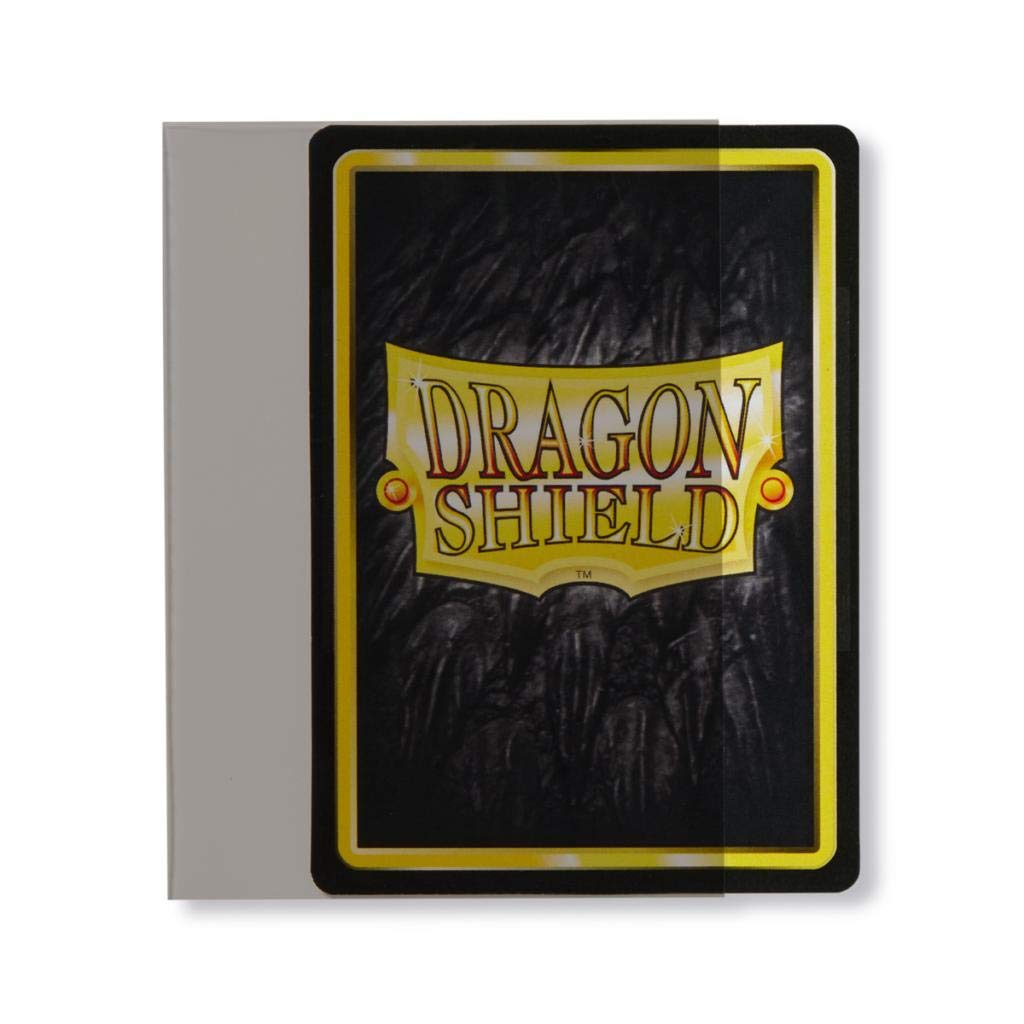 2 Packs Smoke Standard Size Sideloader Sleeves 200 Sleeves Total Dragon Shield Bundle