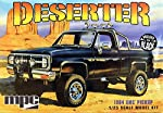 MPC 848 Deserter 1984 GMC Pickup (Molded in Black) 1:25 Scale Plastic Model Kit - Requires Assembly by Learning Curve by Learning Curve-Tomy