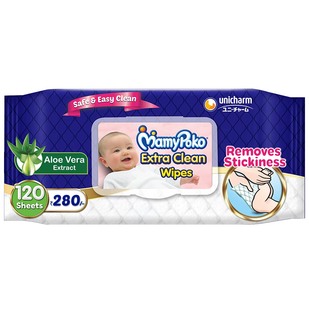 40% Off – MamyPoko wipes, 120 wipes