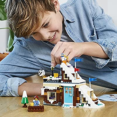 LEGO Creator 3in1 Modular Winter Vacation 31080 Building Kit (374 Piece): Toys & Games