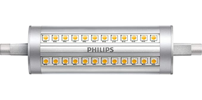 Led R7s 118mm Dimbaar 300w.Philips Corepro Led R7s 14w Cool White 118mm Dimmable