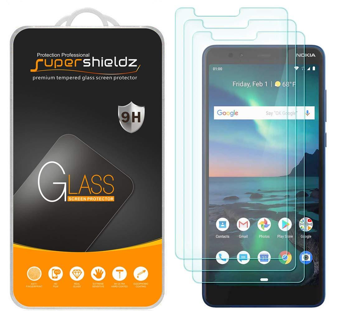 Vidrio Templado Para Nokia 3.1 Plus [3 Un.] Supershieldz