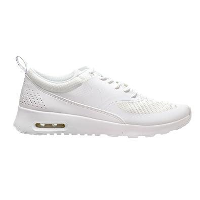 online retailer e2bdf 5bf59 Nike Air Max Thea (GS) Big Kid s Shoes White Metallic Silver 814444-