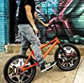 BikeDubz Mayhem Bicycle Wheel Spoke Covers Accessory For 20 Inch Bikes (Fits: We The People | Fit | Haro | Sunday | Huffy | Mongoose | Kink | GT | DK | United)