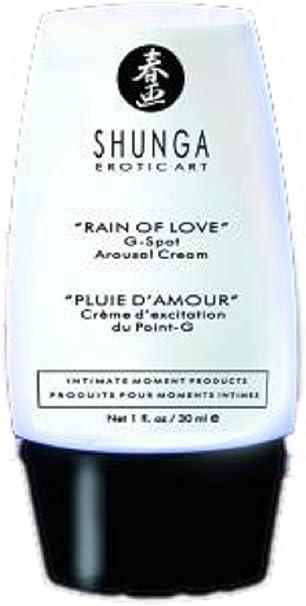 Shunga Lluvia de Amor Crema Punto G, Color Negro - 30 ml: Amazon.es: Salud y cuidado personal