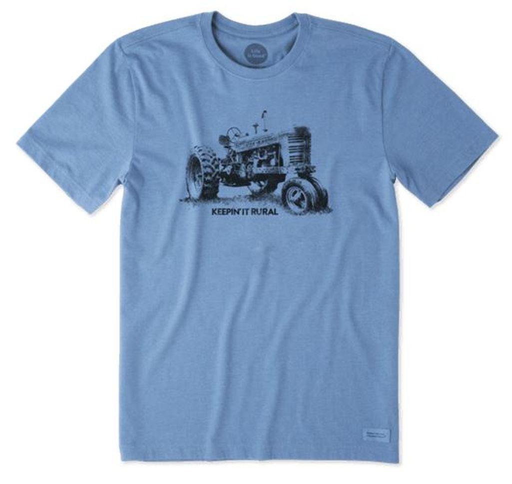 S Tee Keepin It Rural Heather Vintage Blue 9762 Shirts