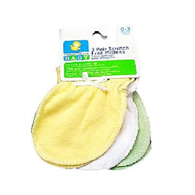 Especially for Baby Newborn Mittens 3-Pack - Neutral