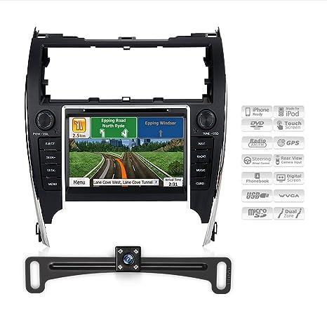 Igo Australia Map 2013.Amazon Com Aimtom 2012 2014 Toyota Camry Indash Bluetooth Gps