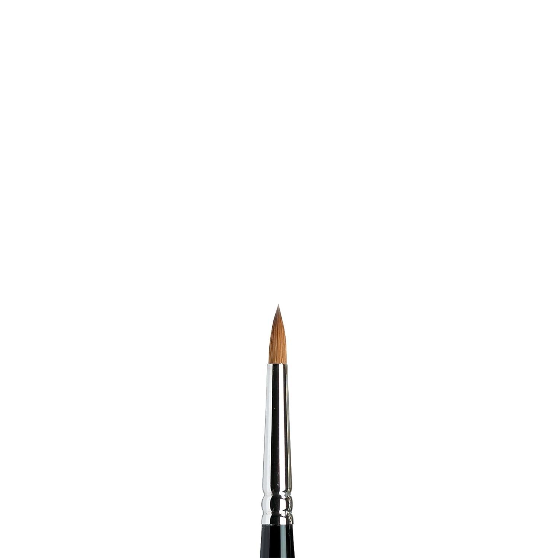 Winsor /& Newton Pincel de acuarela para miniaturas Serie 7 Color negro 0 5012000