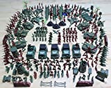 detailed toy soldiers - Army Toys, 307 PCS World War II Soldiers Plastic Army Men Combat Special Forces with Hand Bag Birthday for Party Favor