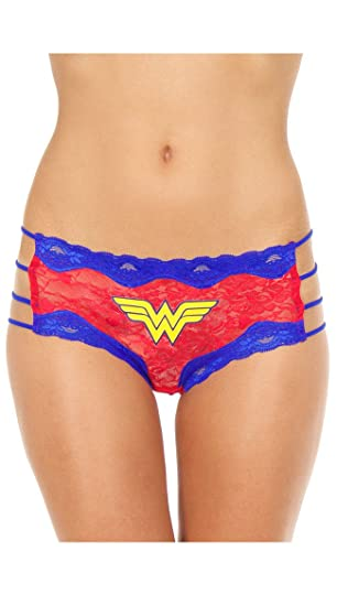 387c8c0944b78 Image Unavailable. Image not available for. Color  XGEN Products Plus Size  Wonder Woman Hipster Panty ...