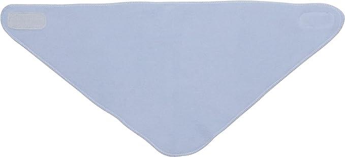 bleu Playshoes Baby Dreieckstuch aus Fleece mit mit Klettverschluss an der Rückseite legeres Hals-Tuch one size