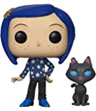 Funko- Figurines Pop Vinyl: Movies Coraline with Cat Buddy Collectible Figure, 32811, Multcolour, Standard