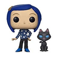 Funko Figure Pop Movies Coraline with Cat Buddy , Multicolor