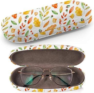 Art-Strap Funda rígida para gafas, estuche de gafas de sol, caja de plástico, funda de gafas con paño de limpieza (mano de alta calidad): Amazon.es: Ropa y accesorios