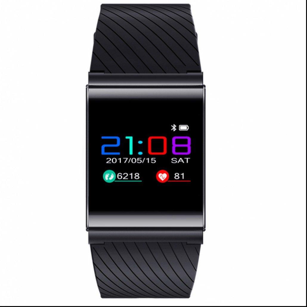 Inteligente Pulsera Deportes,Pulso Cardíaco Fitness Tracker con Contador de Pasos/Monitor de Sueño Pulsera/Alarma y Cronómetro/Contador de Calorías/Monitor de Pulso Cardiaco para Android y IOS Teléfono móvil