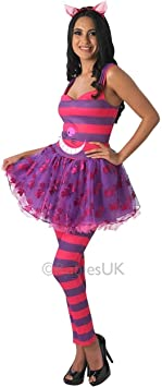 Rubies Disney ~ Sassy Cheshire Cat - Adult Costume Lady: S (UK ...