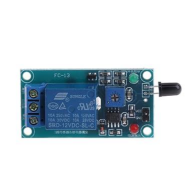 NNGUBIU - Sensor de llama de 12 V desechable: Amazon.es ...