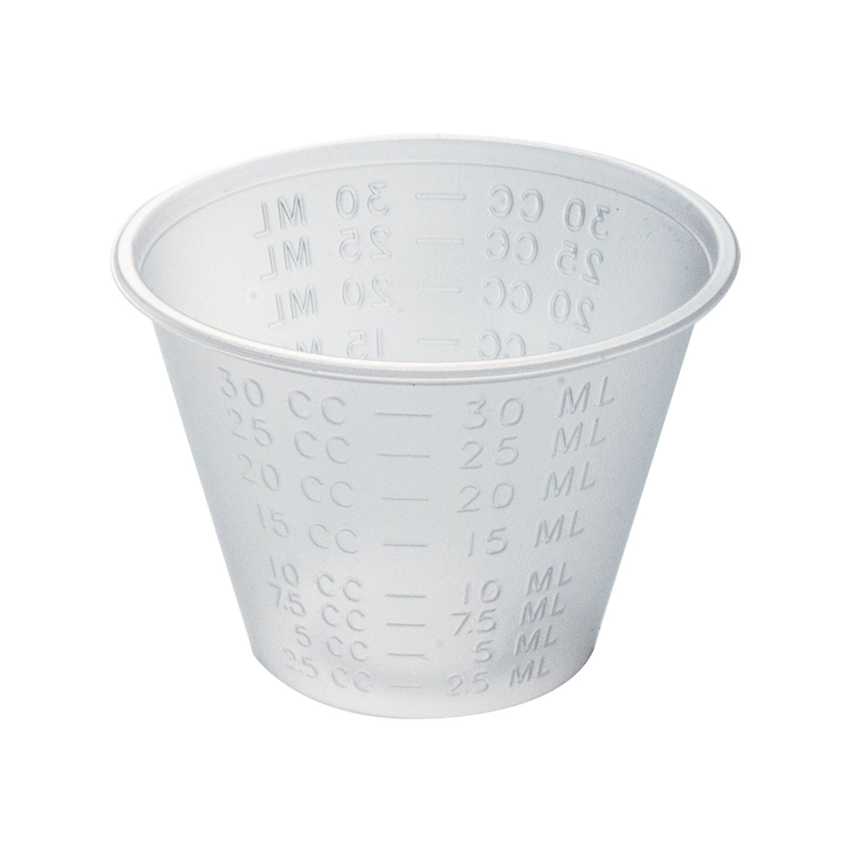 Dynarex 4258 Medicine Cup 1 oz (polyethylene)Economy - 50/100/Case (5M) by Dynarex (Image #1)