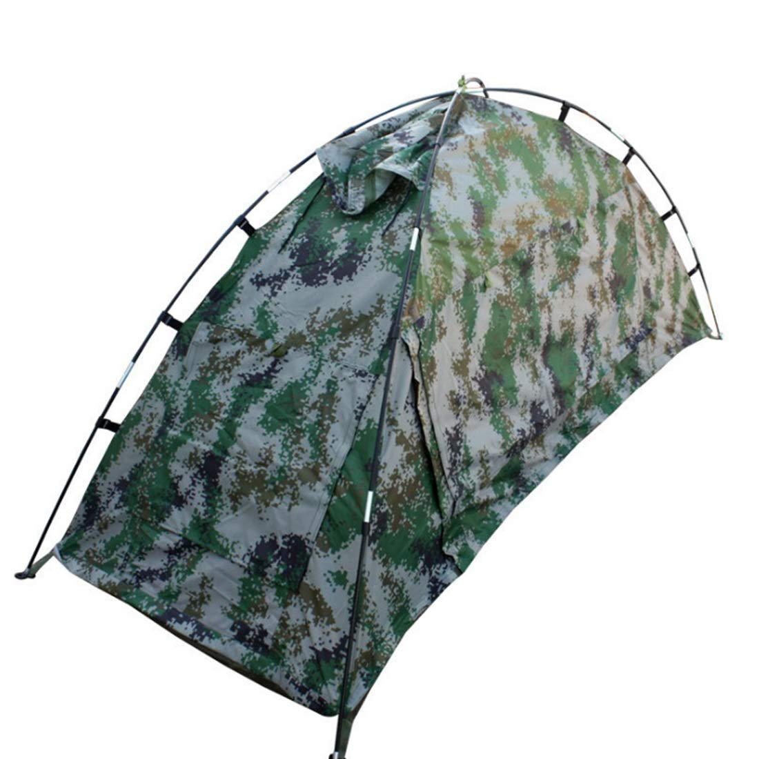 LilyAngel 屋外キャンプのための1人の迷彩テント  Camouflage B07MXF981L